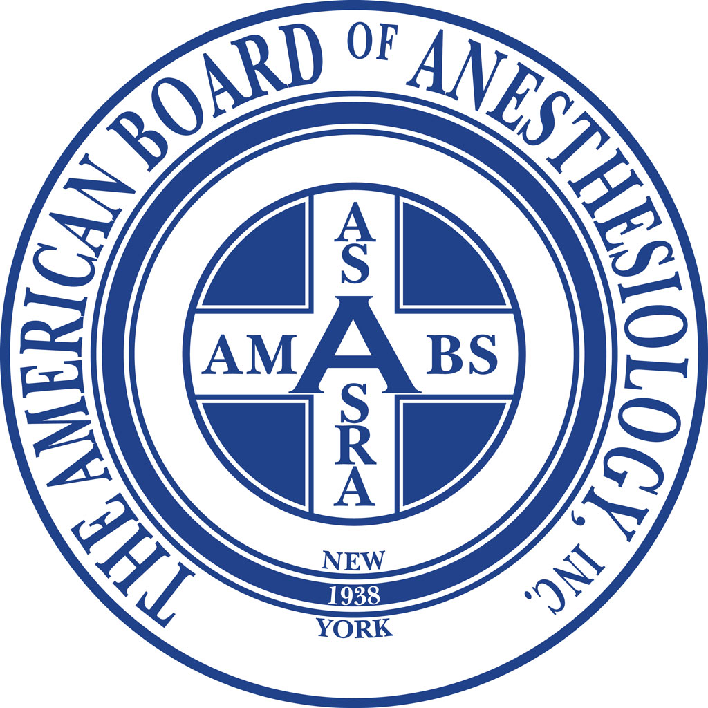 Aegis Anesthesia Board Certified Anesthesiologists